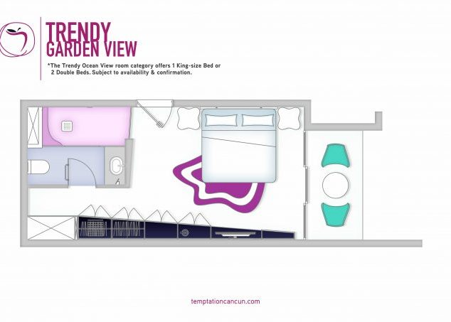 Trendy Garden View