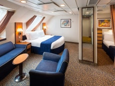 Ultra spacious View Stateroom